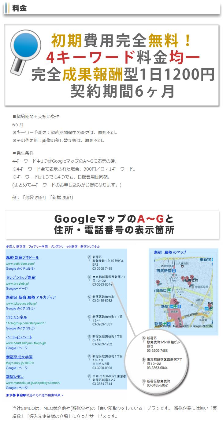 GoogleMap登録はホームページ不要です